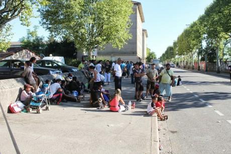 Des Roms expulsés de leur campement à Vaulx-en-Velin - LyonMag