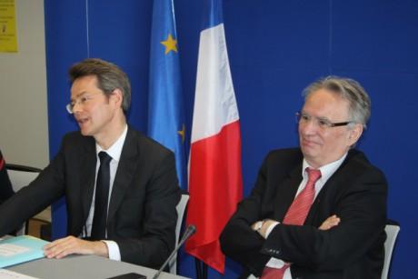 Stéphane Rouvé et Bernard Rivalta - LyonMag