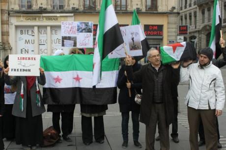 Un rassemblement avait également eu lieu l'année dernière - LyonMag.com