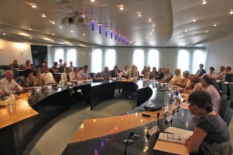 Le comité syndical du SYTRAL - Photo Lyonmag.com
