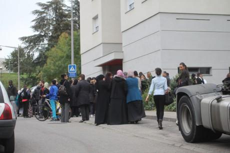 Vendredi dernier, un rassemblement avait eu lieu à Vénissieux pour demander sa libération - LyonMag.com