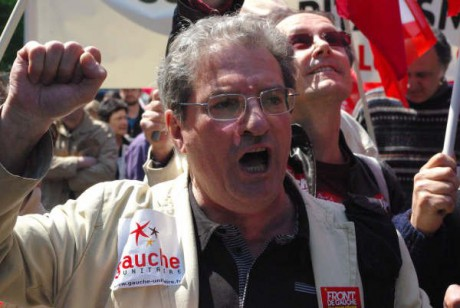 Armand Creus, représentant de la gauche unitaire