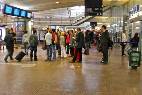 La Gare de la Part-Dieu vendredi matin - LyonMag