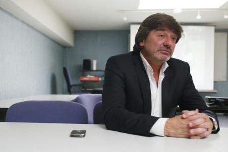 Michel Neyret, à la PJ de Lyon - Photo AFP