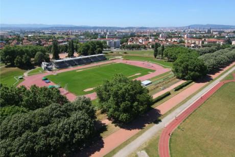 La stade de Parilly - DR