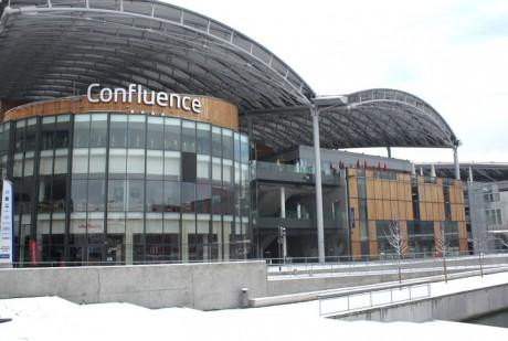 Le pôle de commerce et de loisirs Confluence - LyonMag.com