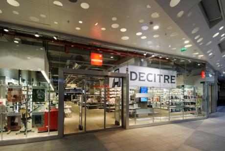 Le magasin Décitre à Confluence - DR