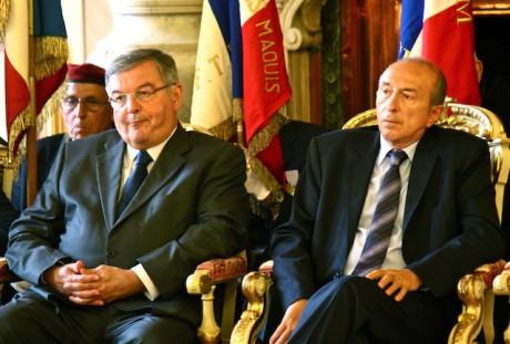 Michel Mercier et Gérard Collomb - Photo Lyonmag.com