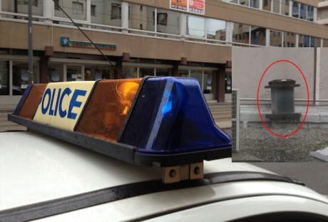 Le conduit où a été retrouvé l'homme, sur le toit-terrasse du 94, rue Servient (Lyon 3e) - LyonMag