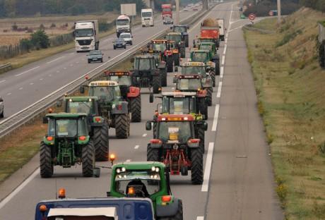 Manifestation des agriculteurs du Rhône - LyonMag