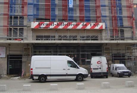 Le TNP de Villeurbanne en travaux - LyonMag