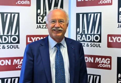 Jean-Louis Touraine dans les studios de Jazz Radio jeudi matin - DR