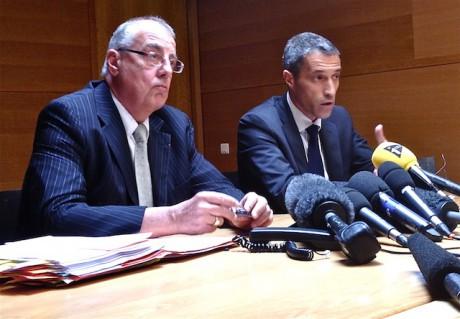 Albert Doutre et Marc Cimamonti s'expriment sur l'enquête - Photo Lyonmag.com