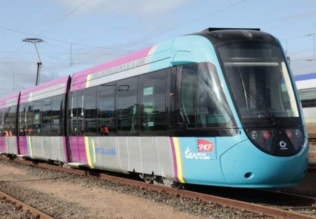 Le futur tram-train de l'ouest lyonnais, ici en circulation dans les Pays de Loire - Photo DR