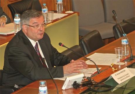 Le président du Conseil Général Michel Mercier - LyonMag