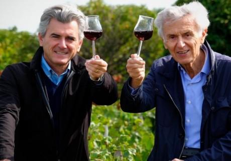 Georges Duboeuf, à droite - DR