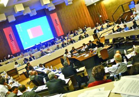 L'assemblée communautaire - LyonMag