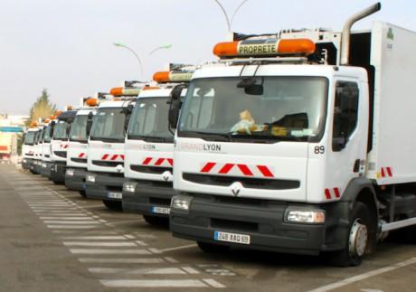 Les camions du dépôt de Gerland - LyonMag
