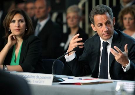 Nora Berra et Nicolas Sarkozy - DR