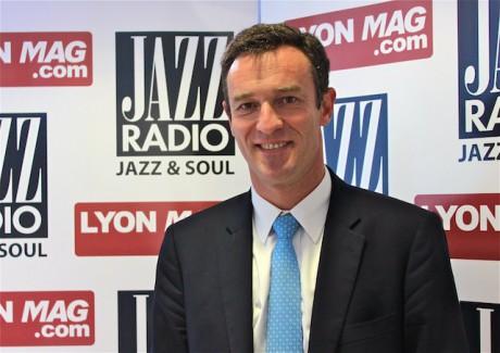 Michel Havard dans les studios de Jazz Radio - LyonMag