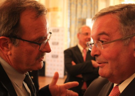 Jean-François Carenco et Michel Mercier - LyonMag