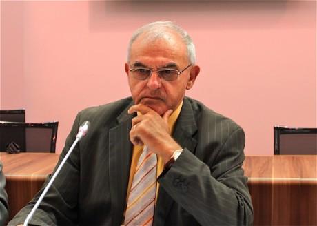 Daniel Moinard, président des HCL, lors de sa conférence de rentrée lundi - LyonMag