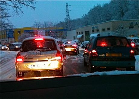 L'épisode neigeux est attendu ce dimanche soir à partir de 21h - LyonMag.com