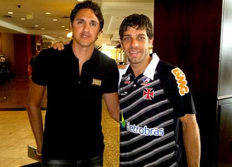 Les deux ex-coéquipier Edmilson et Juninho ont lié une vraie amitié - Lyonmag