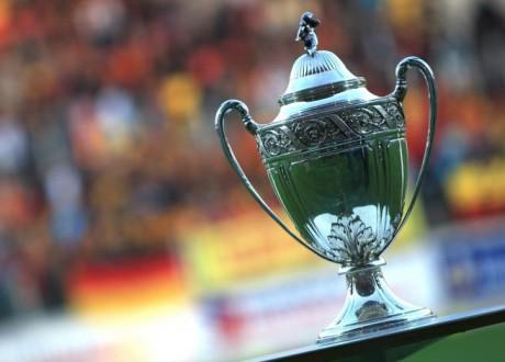 Le trophée de la coupe de France - Photo DR