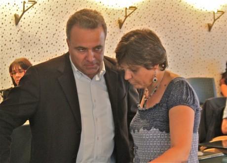 Denis Broliquier et Béatrice Vessiller au Sytral - LyonMag