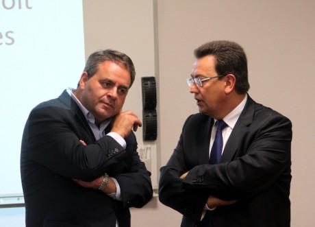 Xavier Bertrand (à gauche) - Photo LyonMag.com