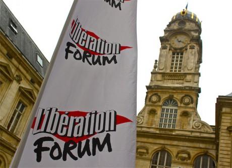 Le forum Libé s'est tenu du 25 au 28 novembre dans les alons de l'Hôtel de Ville et à l'Opéra de Lyon - LyonMag