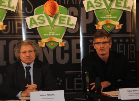 Roland Tchénio et Gilles Moretton - LyonMag