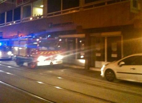 Les pompiers sur place lundi soir rue Servient (Lyon 3e) - LyonMag