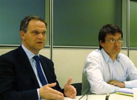 François-Noël Buffet (à gauche) - DR