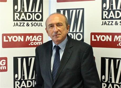 Gérard Collomb, en direct mardi des studios de Jazz Radio, était l'invité de l'émission