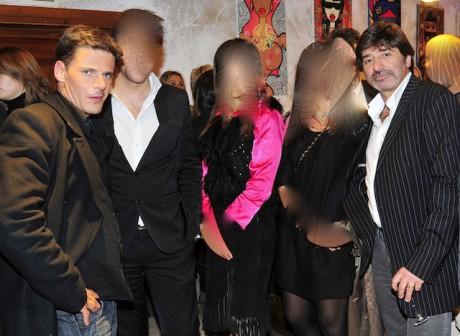 L'avocat lyonnais David Metaxas (à gauche) et Michel Neyret - Photo LyonMag