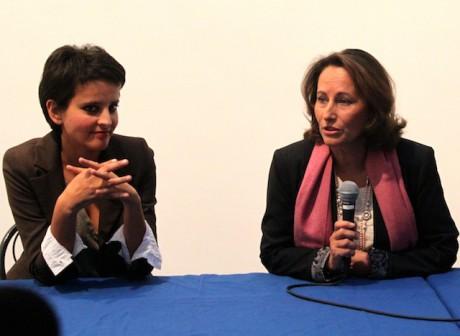 Najat Belkacem et Ségolène Royal - DR