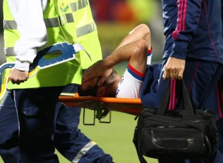 Lisandro, souvent blessé, pourrait manquer cruellement à l'OL - DR AFP