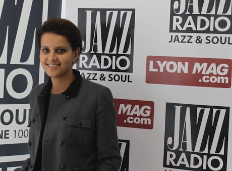 Najat Vallaud-Belkacem - JazzRadio/LyonMag