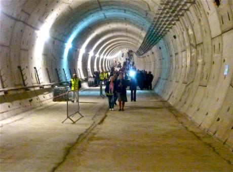 Le tunnel du métro B entre Oullins et Gerland est accessible au public du 7 au 9 octobre - LyonMag