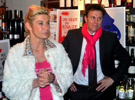 Frigide Barjot (à gauche) et Jean-Baptiste Labouche (à droite) - LyonMag.com