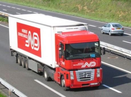 Camion de la société Norbert Dentressangle, filiale de XPO - DR