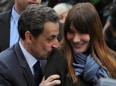 Nicolas Sarkozy et Carla Bruni - DR