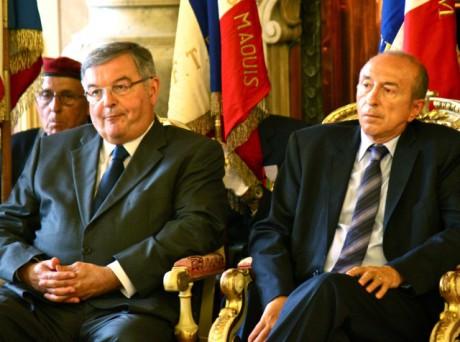 Michel Mercier et Gérard Collomb - LyonMag
