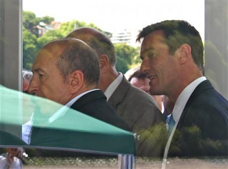 Gérard Collomb et Michel Havard - LyonMag
