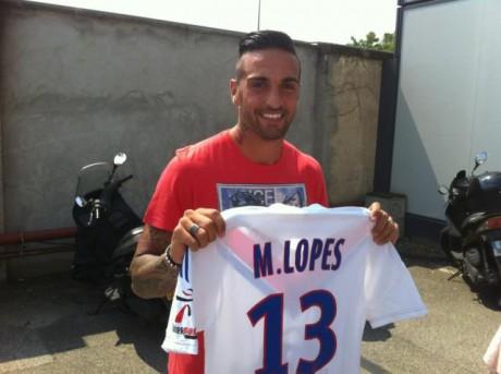 Miguel Lopes portera le numéro 13 laissé par Anthony Réveillère - LyonMag