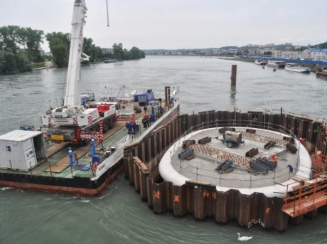 Les travaux du pont Raymond-Barre - LyonMag
