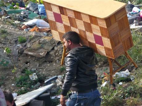 Depuis début août, les expulsions de camps de Roms se multiplient - Photo Lyonmag.com