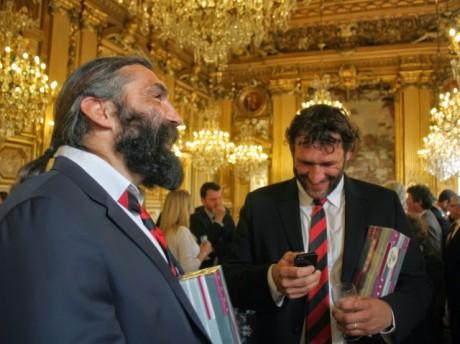 Sébastien Chabal et Lionel Nallet - LyonMag